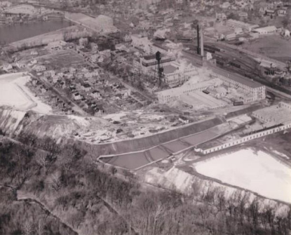 Arial of K&M in 1930s courtesy of EPA